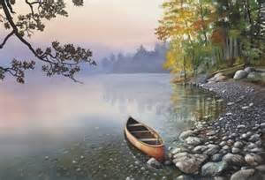 Landscape Artists In Canada Western Canadian Landscape The Crossing At Ghost River