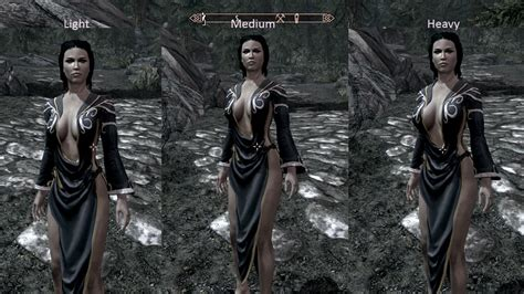 calientes female body mod cbbe v3 skyrim nexus nocturnal dress for calientes body mod cbbe at skyrim