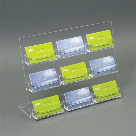 Countertop Business Card Holder acrylic slant back countertop business card holder 9
