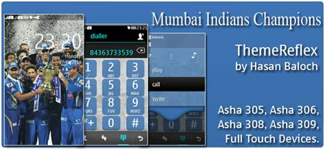 computer themes nth mumbai indians chions theme for nokia s40 devices