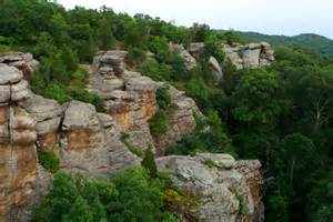 shawnee national forest an illinois natlforest located