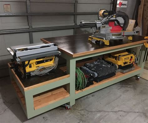 all in one bench all in one work bench tool storage and inside workshop