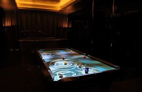 Digital Pool Table by Cuelight Pool Table By Obscura Digital Blurppy