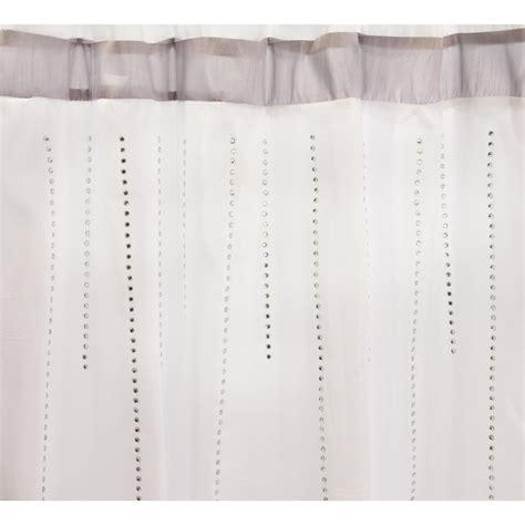 curtain embellishments kassadecor embellished shower curtain 9361g save 75