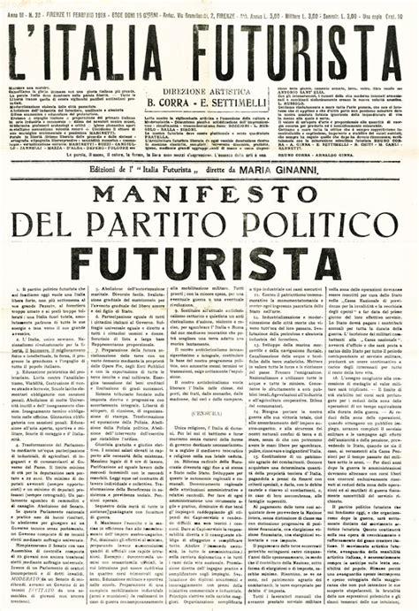manifesto cucina futurista futurismo e movimento 77 l arengario studio bibliografico