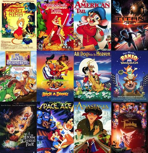 film with cartoon dragon 402 best images about don bluth director animator on