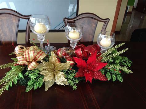 centro mesa comedor adornos navidenos  comedores