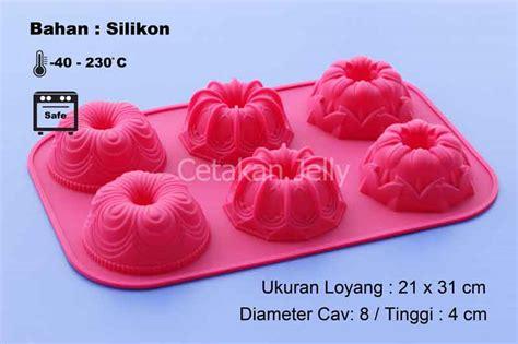 Cetakan Slikon Kue Puding Big Dino cetakan silikon puding kue mix 6 cav cetakan jelly cetakan jelly
