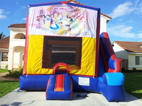 disney bounce house 4 in 1 disney princesses bounce house choice party rental miami