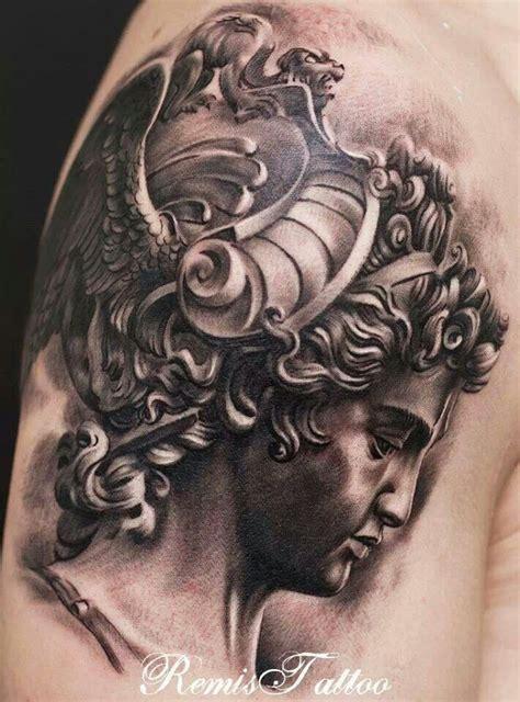 remis tattoo instagram roman bust by remis tattoo black gray tattoos