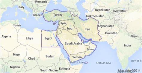 middle east map cairo federico gaon sobre medio oriente y el mundo