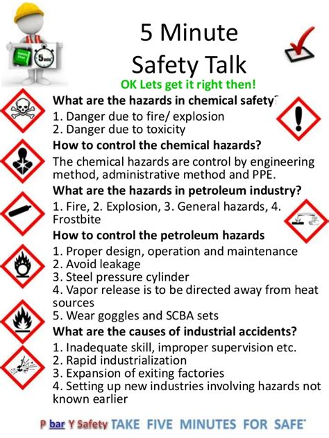5 minute ghs chemical hazards reminder