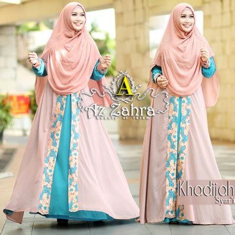 Gamis Khadijah Syari Pink khadijah a baju muslim gamis modern