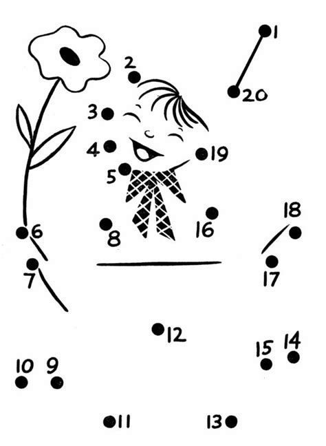 printable connect the dots numbers 1 20 dot to dot numbers 1 20 printables rusart professional