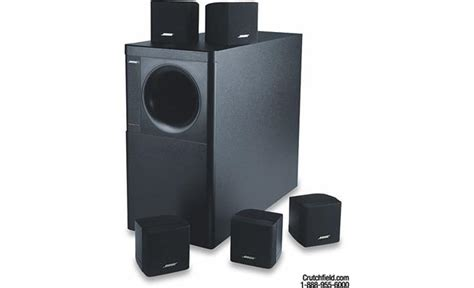 bose 174 acoustimass 174 6 series ii black home theater
