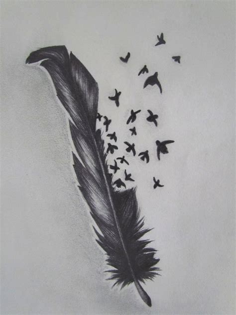bird feather tattoo designs feather tattoos designs pictures