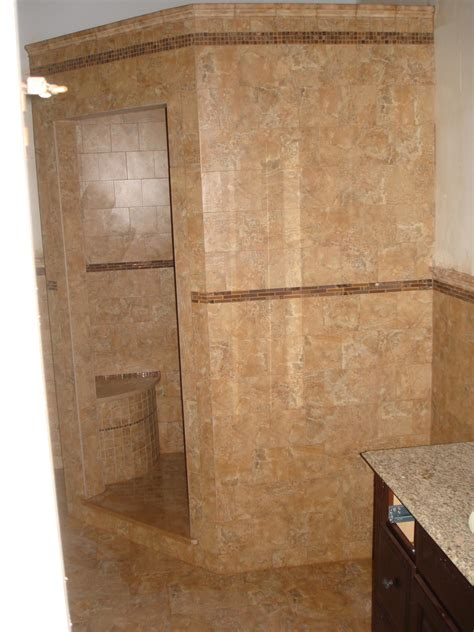 new tile shower in master bath new jersey custom tile