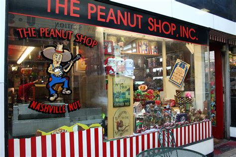 memories of nashville now the peanut shop news and