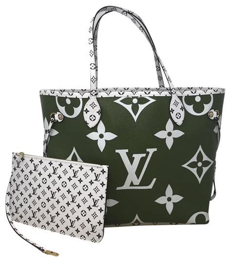 louis vuitton neverfull mm monogram giant summer