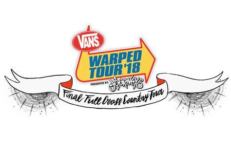 vans warped tour presented by journeys reveals 2018 lineup