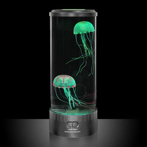 Jellyfish In Aquarium the hypnotic jellyfish aquarium hammacher schlemmer