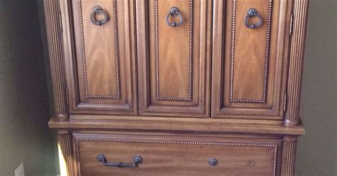 craft cabinet armoire armoire turned craft cabinet hometalk