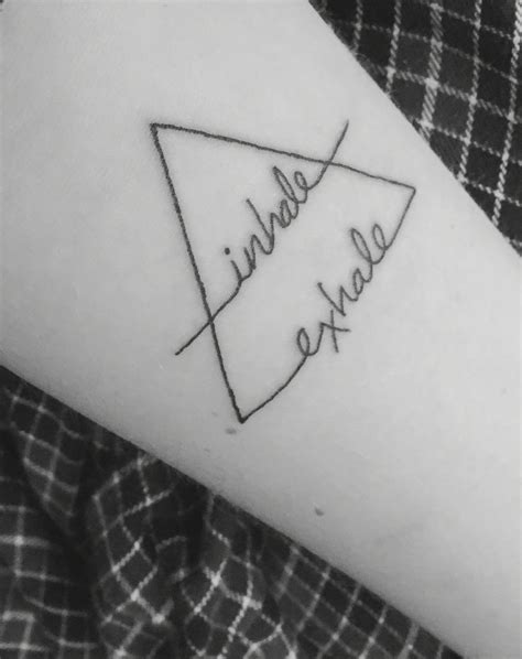 inhale exhale tattoo new air symbol inhale exhale don t forget to