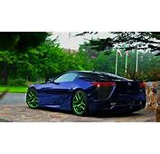 Luxury Sports Car Lexus LFA  Best Pictures And Wallpapers