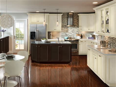 vanilla cream kitchen cabinets jdssupply com trevant by armstrong cabinets
