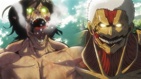 TITAN EREN VS ARMORED TITAN! - Attack On Titan Season 2 進撃 ... Attack On Titan Eren Titan Vs Armored Titan