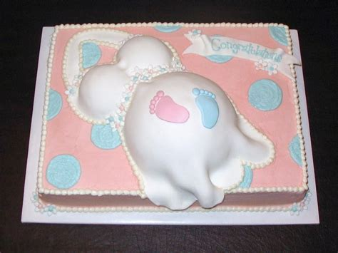 Footprint Baby Shower Cakes by Baby Footprint Cakecentral