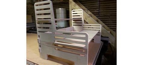 Upstanding Desk by Cutting Edge Cnc Cutting Routing Brighton Sussex Kent