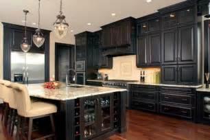 Black Wood Kitchen Cabinets Kitchen Ideas White Cabinets Black Appliances 2017 Kitchen Design Ideas