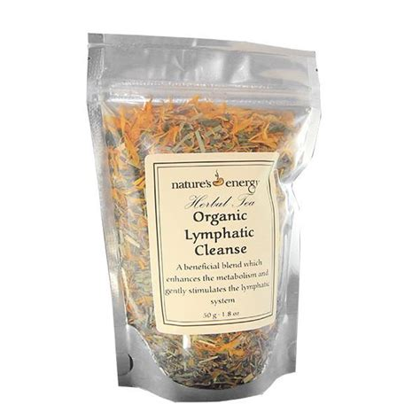 Lymphatic Detox Herbs by 10 Organic Herbal Tea Blend Lymphatic Cleanse By Nature