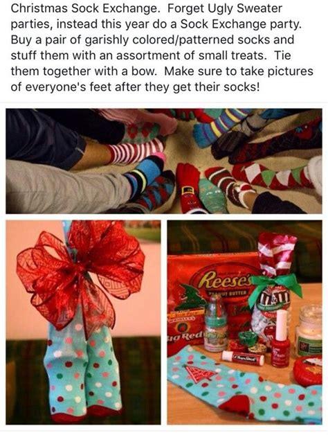 sock gift exchange best 25 sock ideas on gift exchange themes traditional