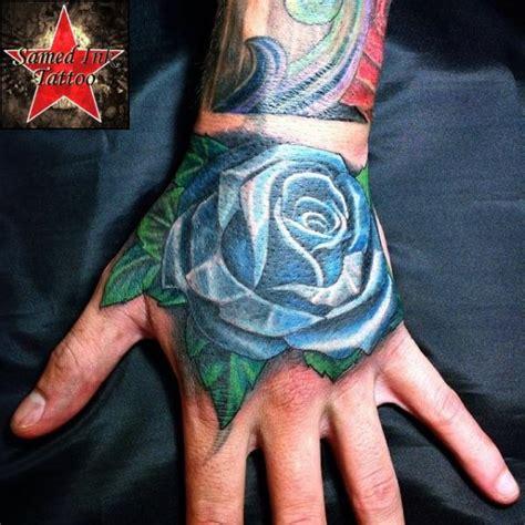 tattoo hand new school new school hand rose tattoo by samed ink tattoos
