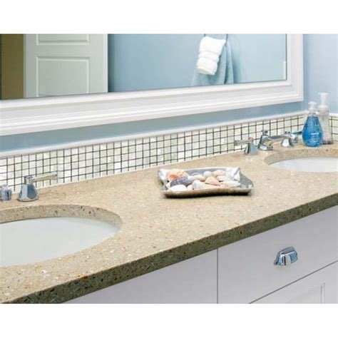 fresh water mother of pearl shell mosaic tile kitchen