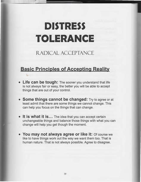 Dialectical Behavior Therapy Worksheets by The Of Dialectical Behavior Therapy