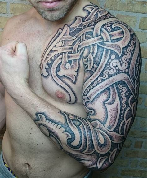 25 beautiful viking tribal tattoos ideas on best 25 viking tribal tattoos ideas on viking