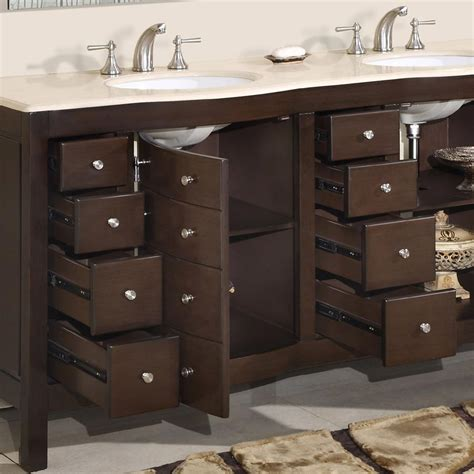 kitchen sink vanity 72 perfecta pa 5126 bathroom vanity sink cabinet walnut finish bathroom