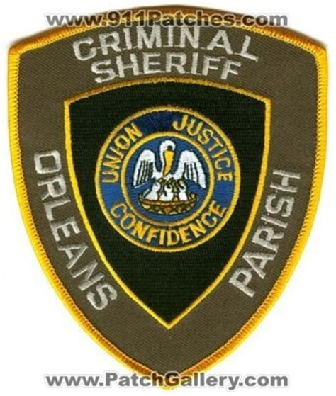 Orleans Parish Arrest Records Louisiana Orleans Parish Criminal Sheriff Louisiana Patchgallery