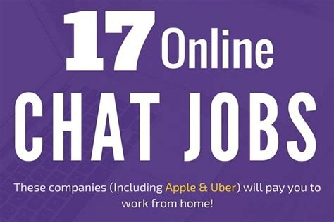 Online Chat Work From Home Jobs - 27 online chat jobs work at home as a live chat agent