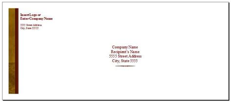 100 envelope template word personalize your