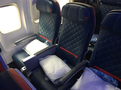 delta comfort plus review delta comfort plus 757 transcontinental jfk lax