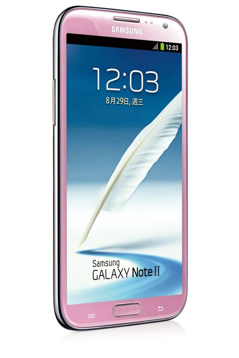 samsung galaxy note 2 jetzt auch in rosa tablet blog