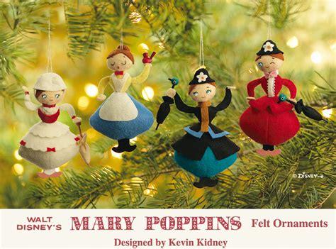 mary poppins felt ornaments a photo on flickriver