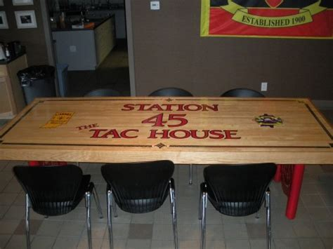 custom firehouse kitchen table indiana critic
