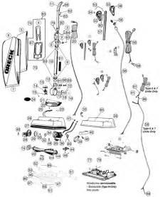 oreck u3700hh vacuum parts