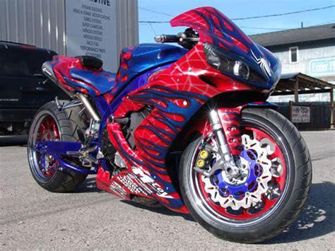 custom r1 custom hayabusa motorcycle paint custom