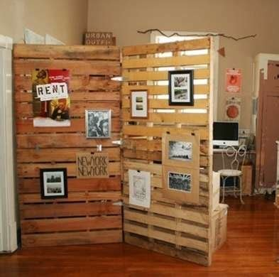 multiple personalities 10 fantastically flexible spaces pallet room divider room divider ideas 17 cool diy